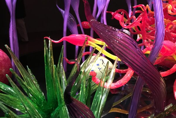 An expert: Dale Chulily. Seattle Glass Museum
